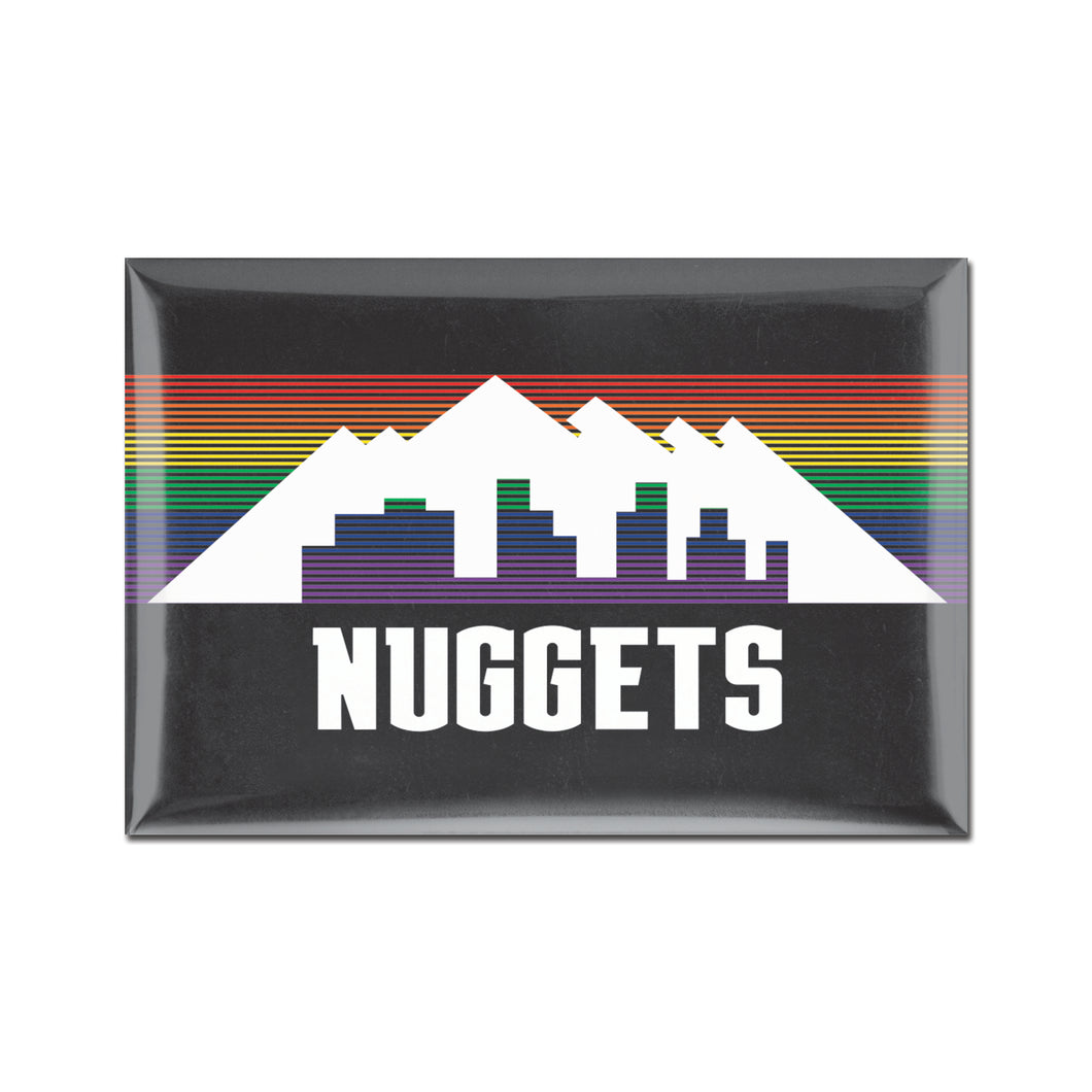 Nuggets 2019 City Edition Fridge Magnet