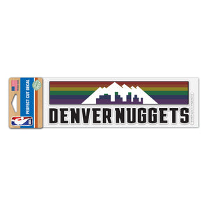 Nuggets 2019 City Edition Perfect Cut Decal