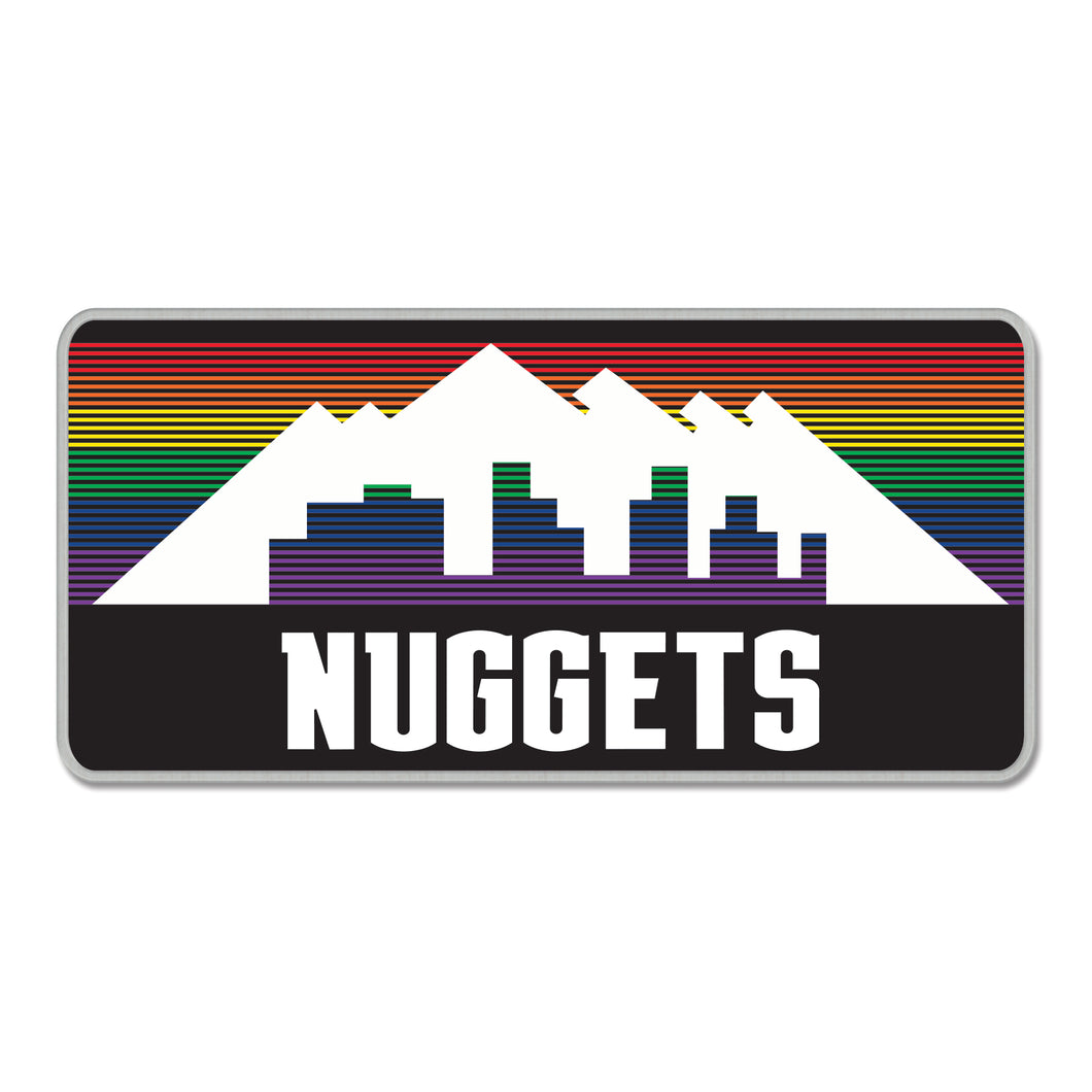 Nuggets 2019 City Edition Lapel Pin