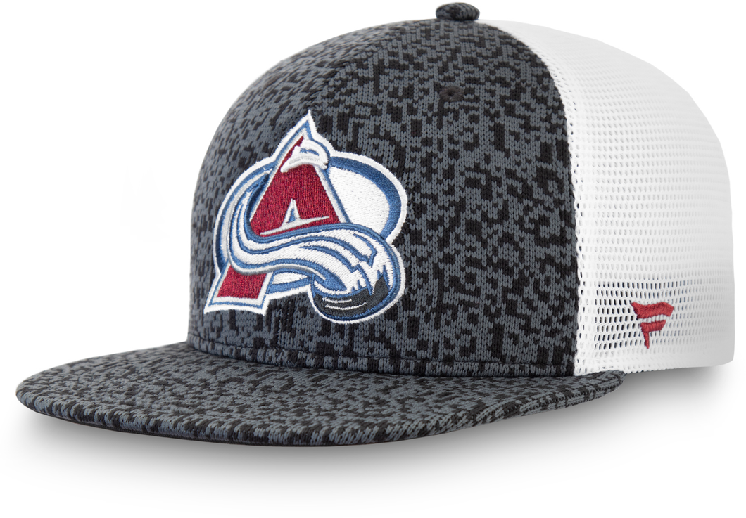 Avalanche Fan Weave Structured Snapback