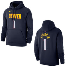 Nuggets Name & Number Player Hoody - Navy