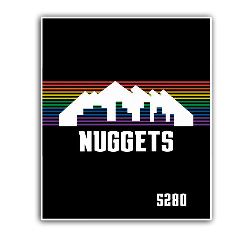 Nuggets 2019 City Edition Blanket