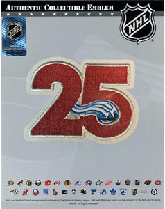 Avalanche 25th Anniversary Patch