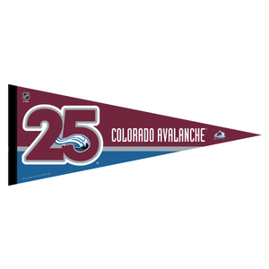 Avalanche 25th Anniversary Pennant