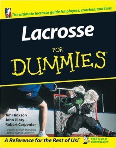 Lacrosse for Dummies Book