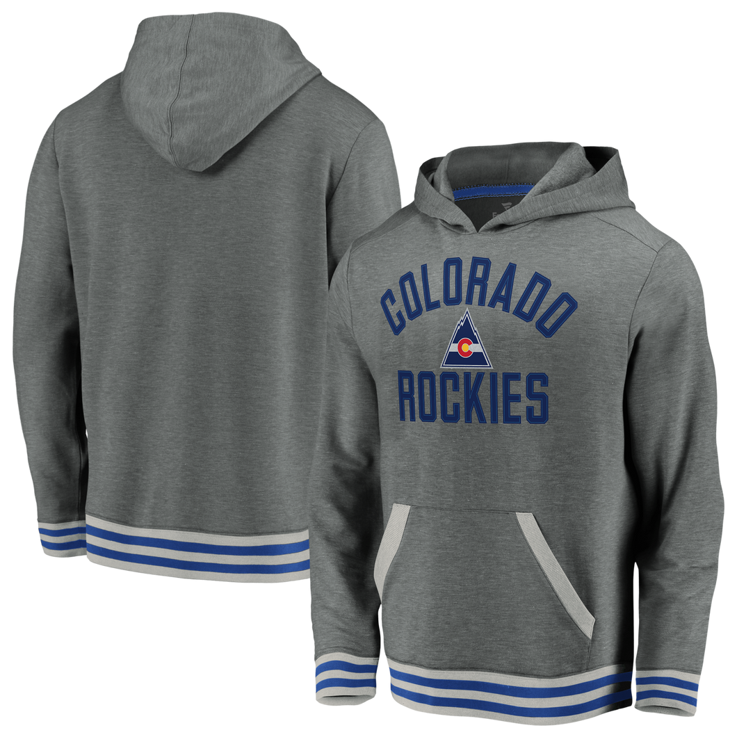 Colorado Rockies Vintage Soft Fleece Pullover