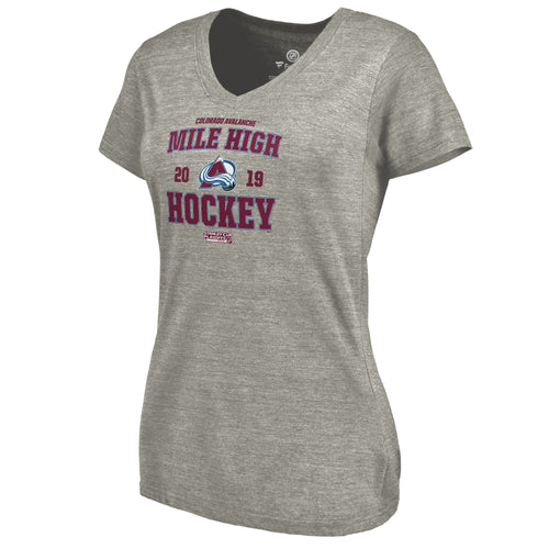 Ladies Avalanche Playoff Penalty Shot Tee