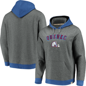 Québec Nordiques Chenille Patch P/O Hoody