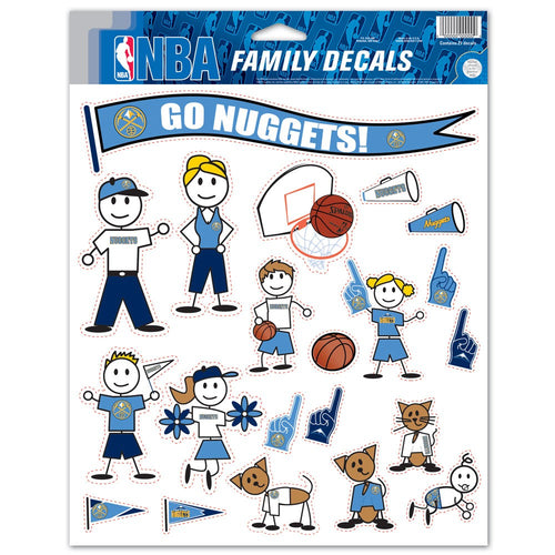 Family Pack Decals - Nuggets