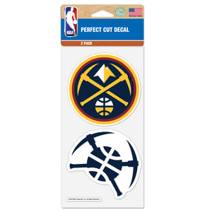 "2018-19 Denver Nuggets 4"" x 8"" Decal"