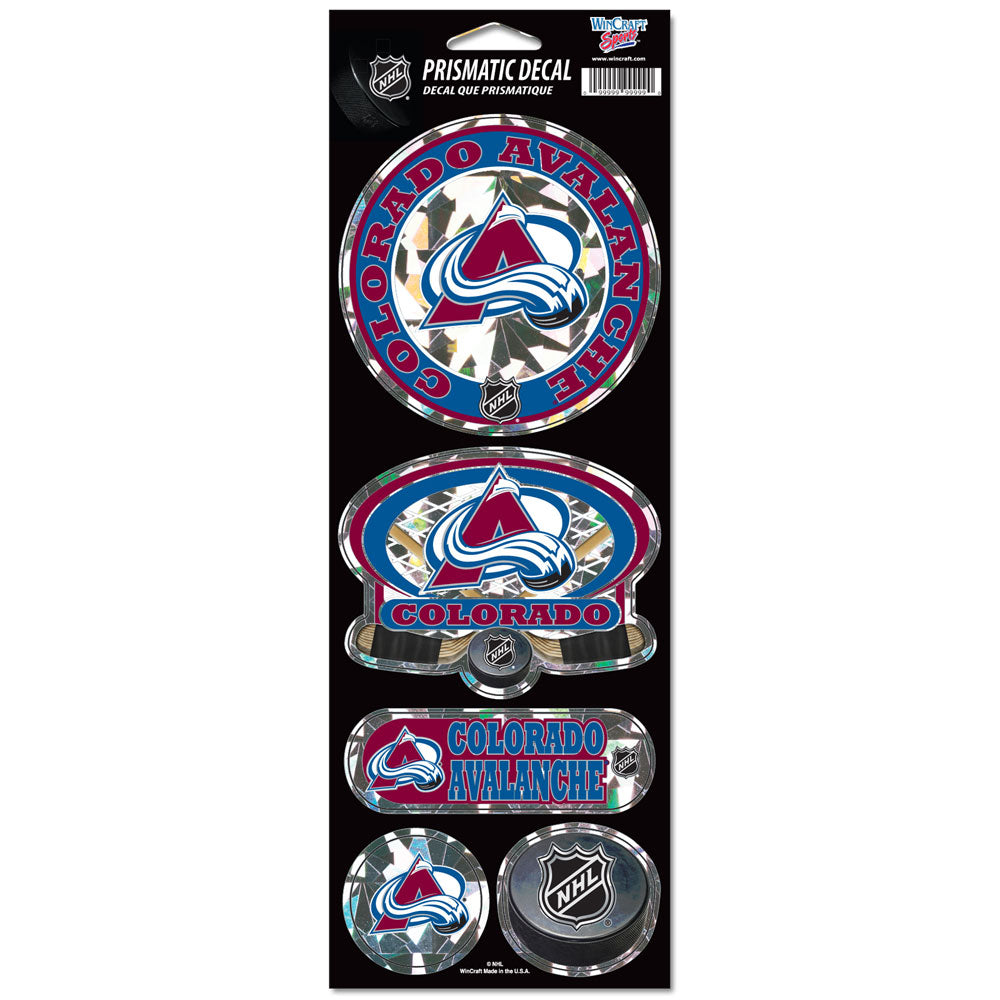 Avalanche Prismatic Decals