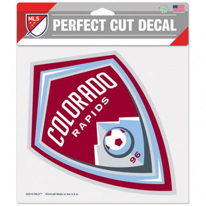 "Colorado Rapids 8"" x 8"" Decal"