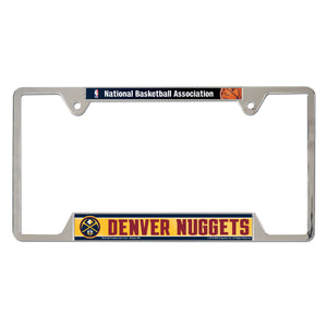 2018-19 Denver Nuggets License Plate Frame