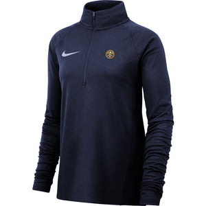 Ladies 1/2 Zip Element - Navy