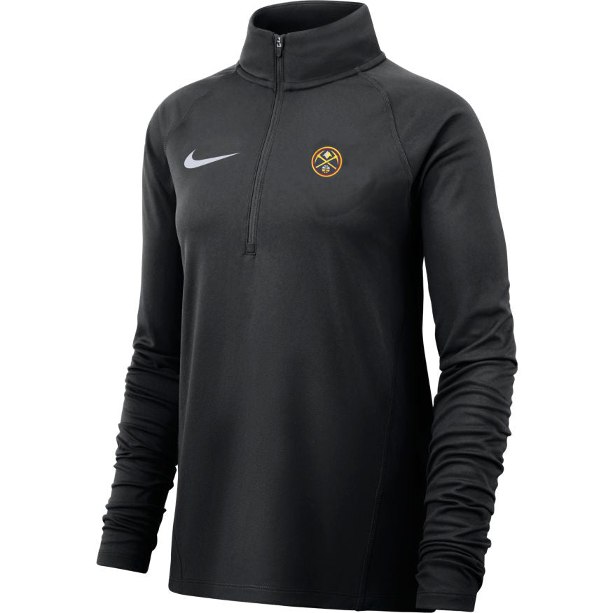 Ladies 1/2 Zip Element - Black