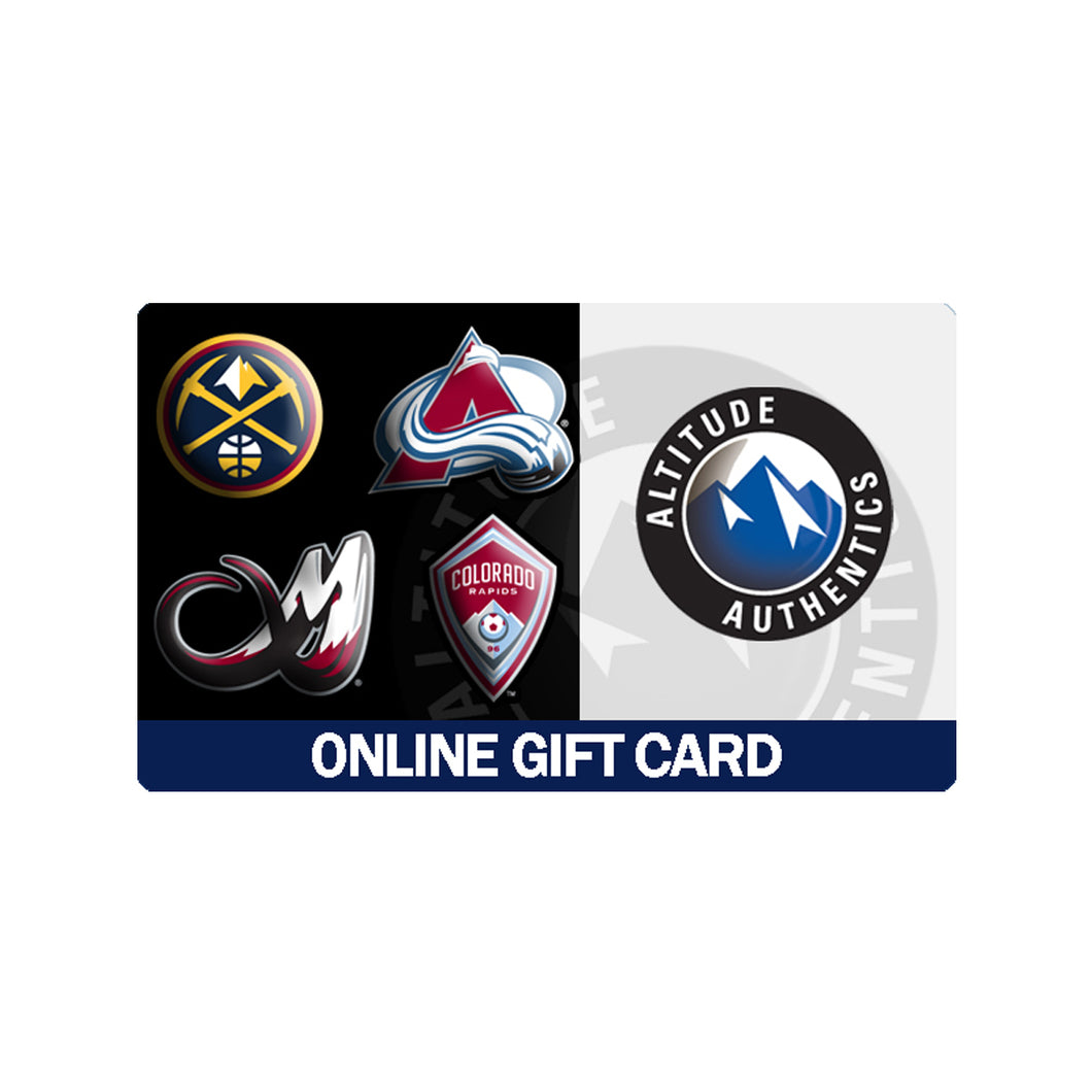 Altitude Authentics Online Gift Card