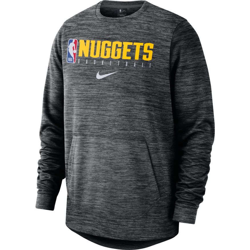 Nuggets Crew Spotlight Logo Man - Grey