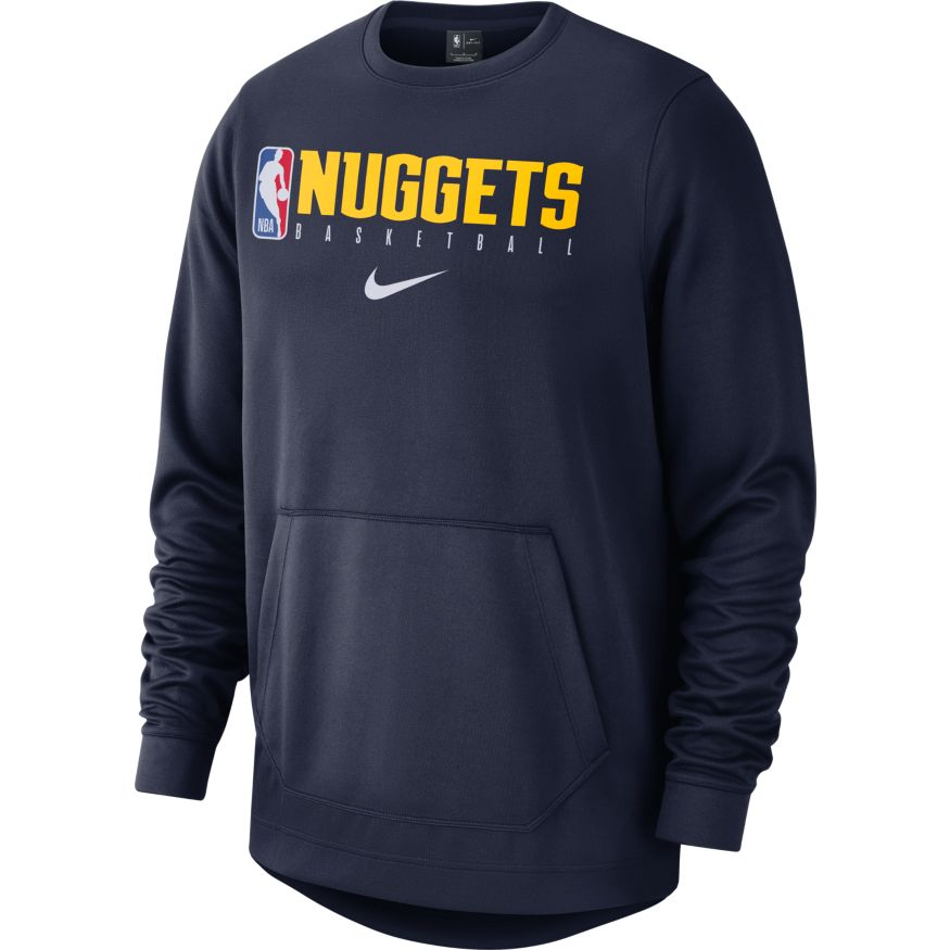 Nuggets Crew Spotlight Logo Man - Navy