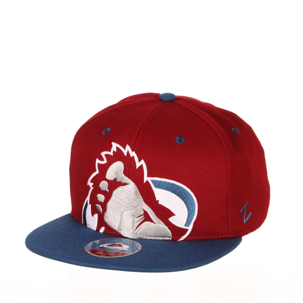Avalanche Oversized Foot Logo Snapback