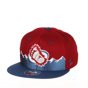 Avalanche Foot Logo Mountains Snapback