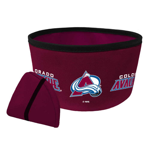 Colorado Avalanche Collapsible Bowl