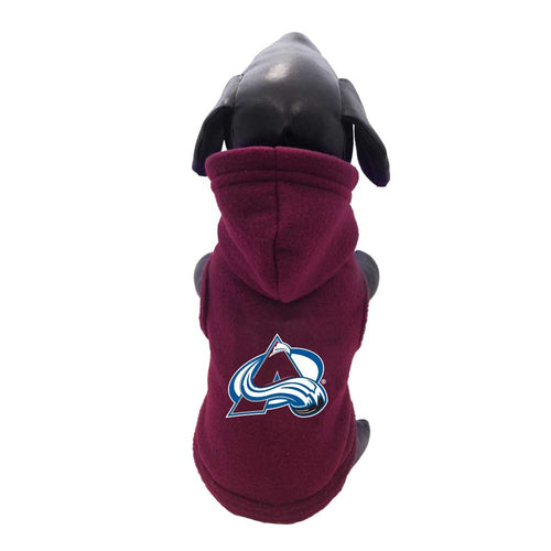 Colorado Avalanche Dog Fleece Hooded Jacket