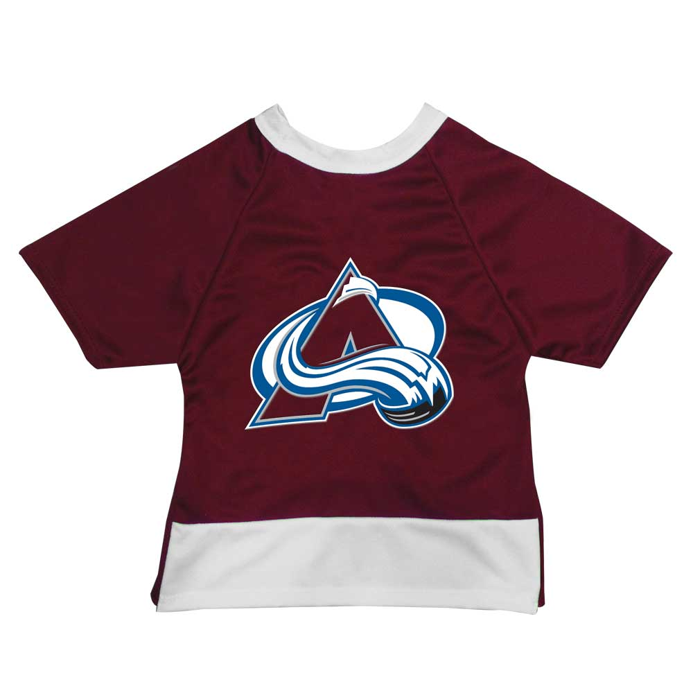 Colorado Avalanche Athletic Dimple Mesh Dog Jersey