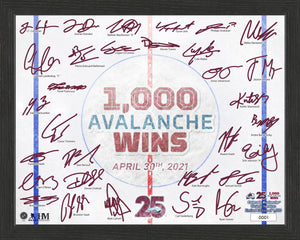 Avalanche 1,000 Win Limited Edition Framed Photo