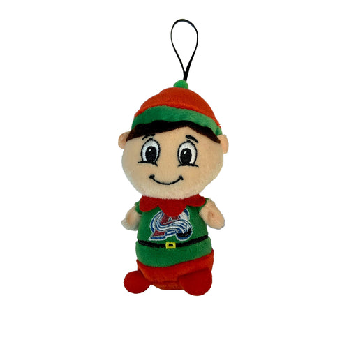 Colorado Avalanche Elf Ornament