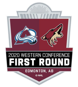 2020 Stanley Cup Playoff Round 1 Dueling Lapel Pin