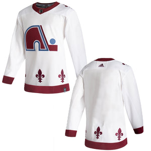 Avalanche Reverse Retro Blank/Custom Authentic Jerseys (Pre-Sale)