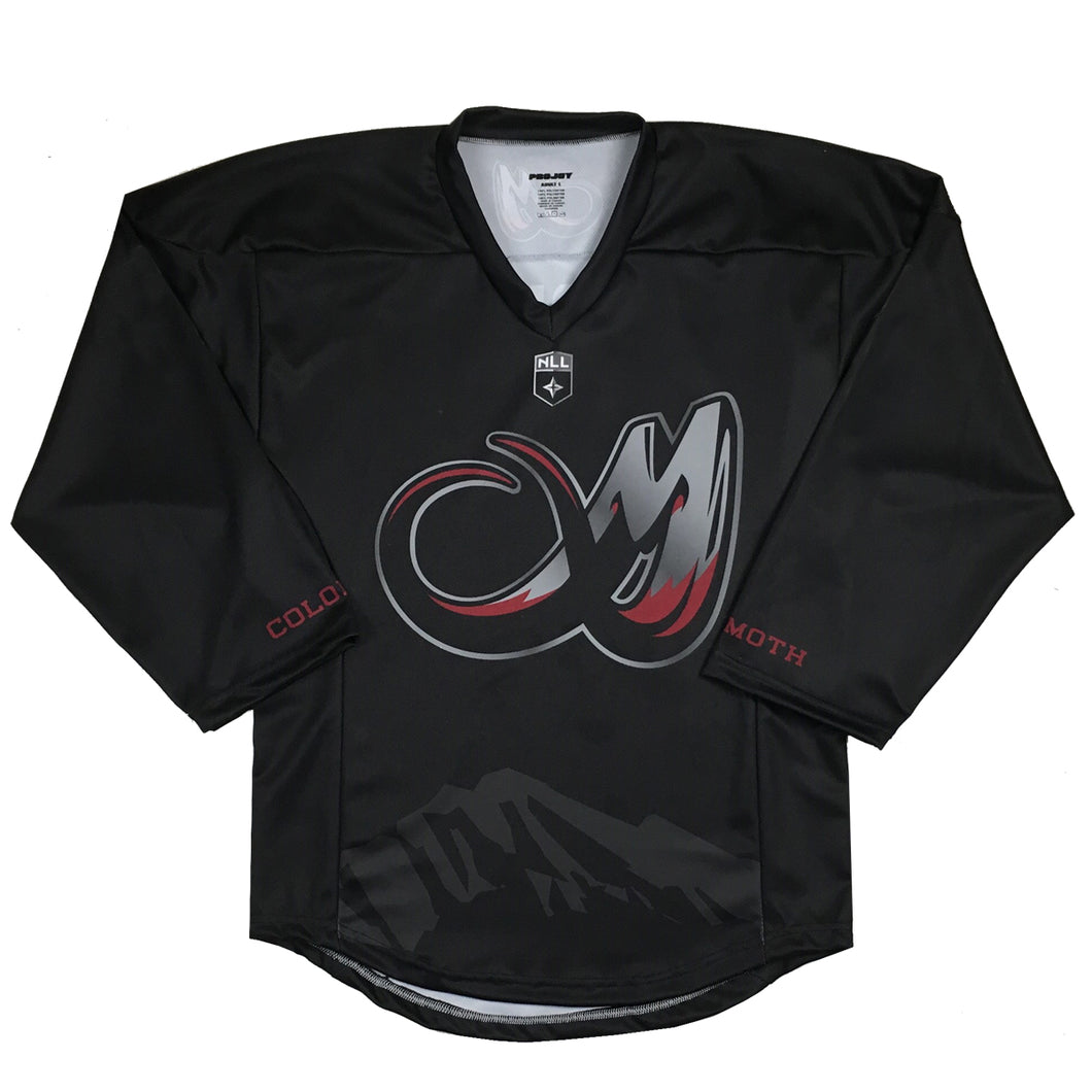 2019 Colorado Mammoth Blackout Jersey