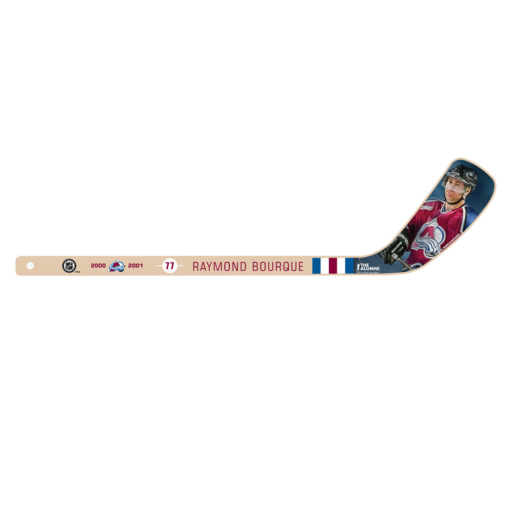 #77 Raymond Bourque Retired Player Mini Stick