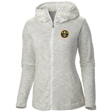 Ladies F/Z Nugget Hoody Primary Logo - White