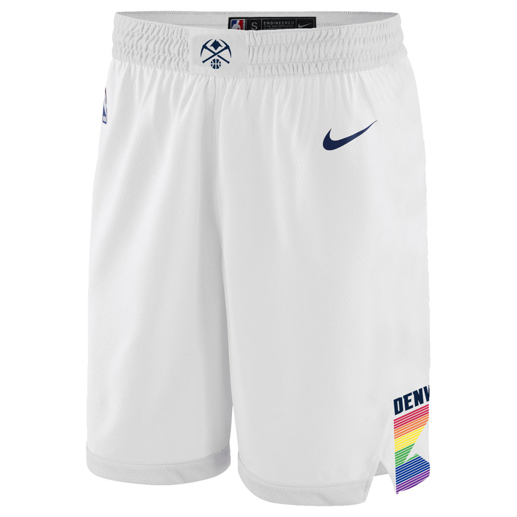 Youth Nuggets 2018 City Edition Swingman Shorts