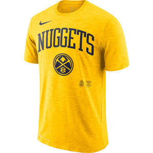 20-21 Nuggets Men's S/S Arch Tee - Gold