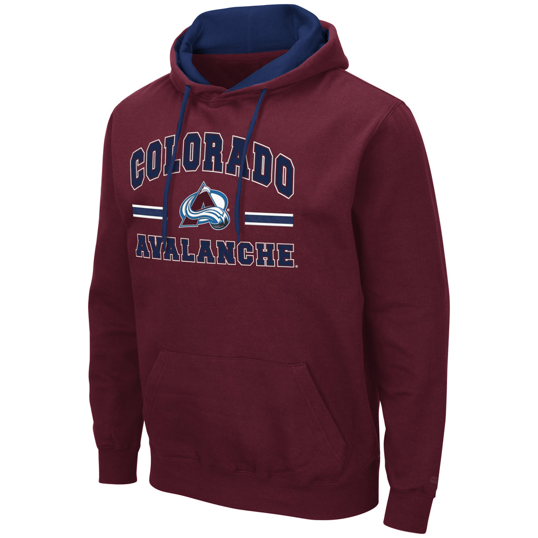 Avalanche PO Comic Book Hoody - Burgundy
