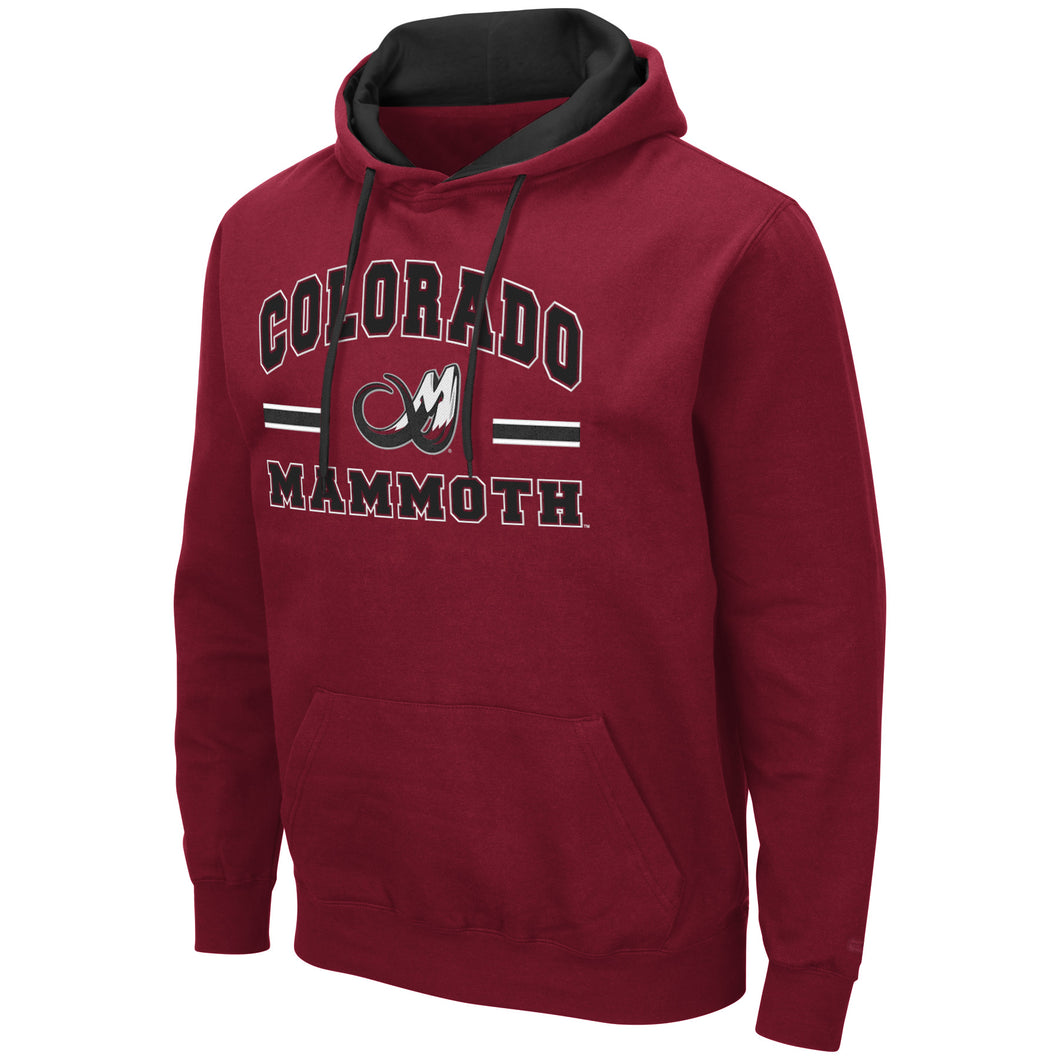 Mammoth PO Comic Book Hoody - Burgundy