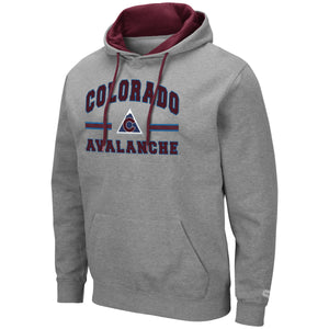 Avalanche PO Comic Book Hoody - Grey
