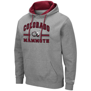 Mammoth PO Comic Book Hoody - Grey
