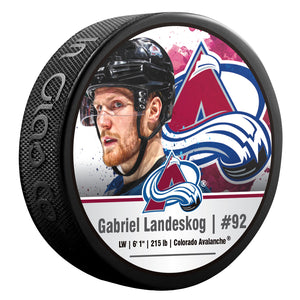 Colorado Avalanche Player Pucks