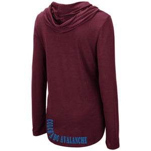 Avalanche Ladies L/S Hooded Tee
