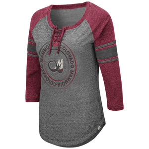 Mammoth Ladies Lace Up Tee