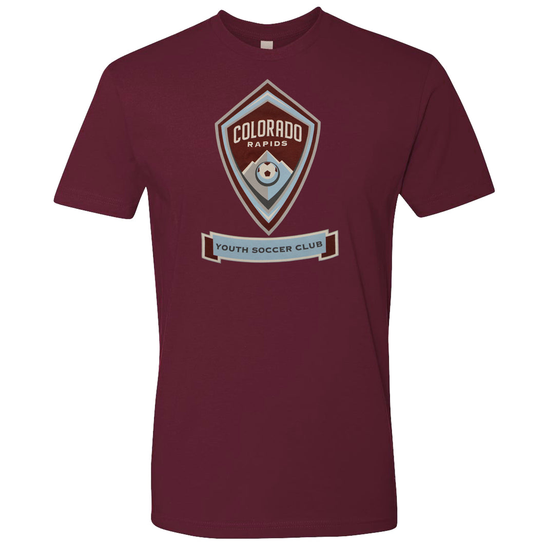 Adult CRYSC Burgundy Tee