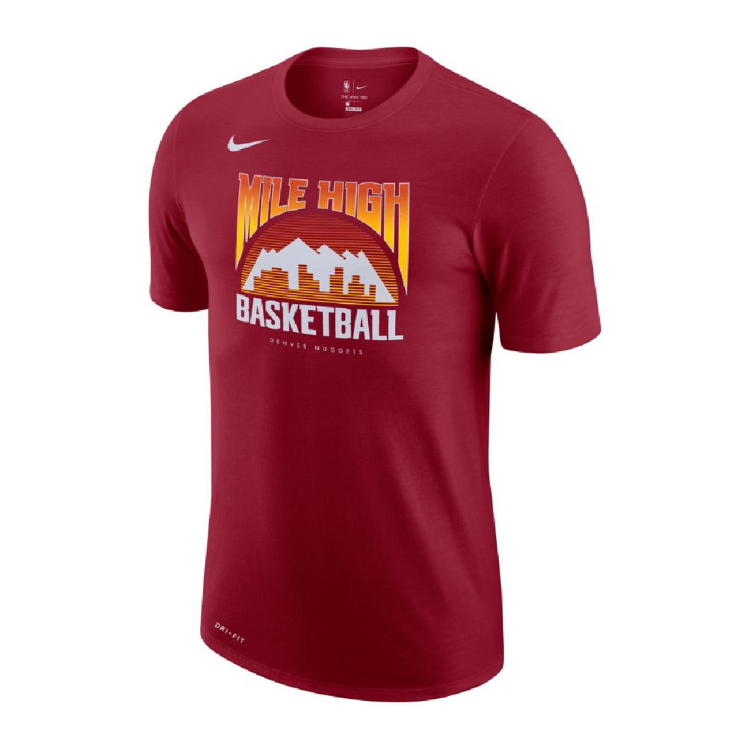 2020-21 Nuggets City Edition Mile High Tee