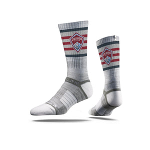Colorado Rapids Grey Striped Socks