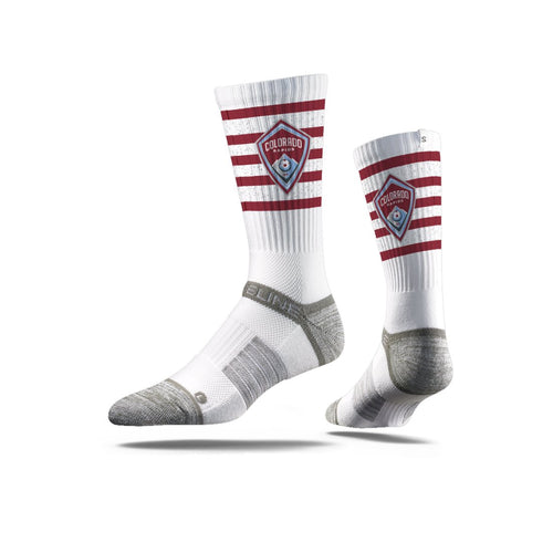 Colorado Rapids White Striped Socks