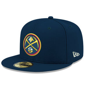 Nuggets Navy Primary Icon Fitted 59FIFTY