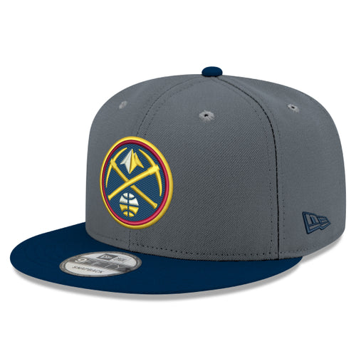 Nuggets Grey Primary Icon 9FIFTY Snapback