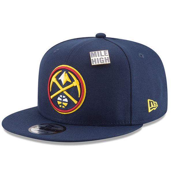 2018 Denver Nuggets Draft 9FIFTY Snapback - Navy